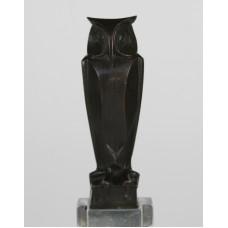Bronzen uil mogelijk door J.C. Altorf