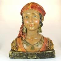 """Buste van zigeunermeisje """"GITANE'"""