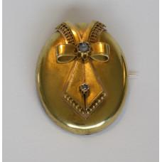 Broche 14k goud empire / napoleon III stijl