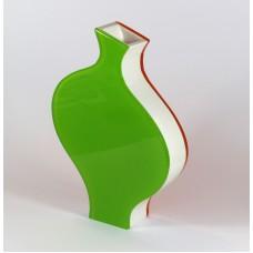 Italiaanse design vaas van plexiglas