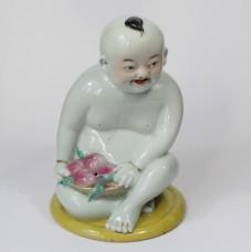 Chinees porseleinen Boeddha beeld